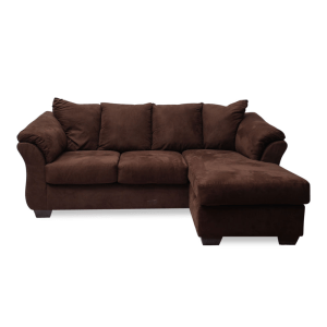 ASHLEY DARCY SOFA - COKELAT
