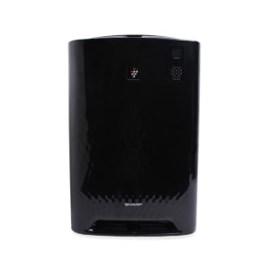 sharp dehumidifier. sharp pembersih udara humidify 38m2 - hitam sharp dehumidifier