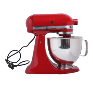 KITCHENAID STAND MIXER ARTISAN SERIES - MERAH