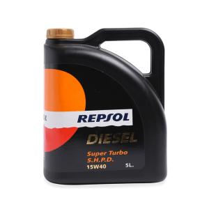 REPSOL OLI MOBIL TURBO DIESEL 15W-40 5 L - HITAM