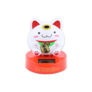 WAY & WAY MARU THE CAT SOLAR TOYS - PUTIH/MERAH