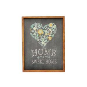 HIASAN DINDING VINTAGE HOME SWEET HOME 33X43 CM