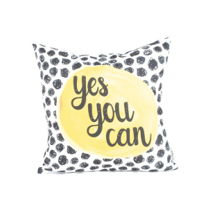 GLERRY HOME DECOR BANTAL SOFA YES YOU CAN 40X40CM