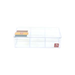 BOXBOX KOTAK PENYIMPANAN 6 KOMPARTEMEN TRP 6236