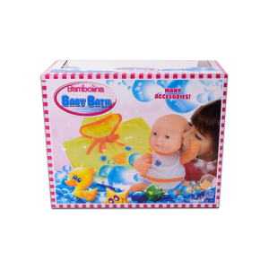 DIMIAN BONEKA BABY WITH TUB - PINK