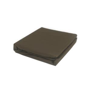 SPREI FITTED SHEET 200X200+35 CM - COKELAT