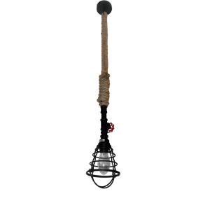 CELLO LAMPU GANTUNG HIAS 14X150 CM - HITAM
