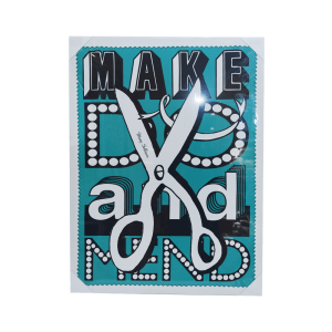 CANVAS PRINT MAKE DO AND MEND 80X60X2.5CM