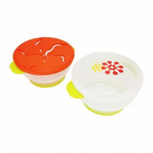 LUCKY BABY WADAH CAMILAN MUNCHIE POT - ORANGE