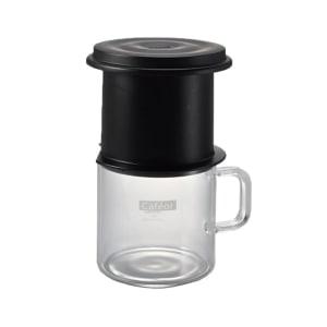 HARIO PEMBUAT KOPI CAFEOR ONE CUP 200ML - HITAM