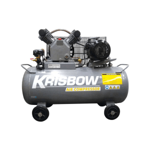 KRISBOW KOMPRESOR 2HP 90L 10BAR 1PH