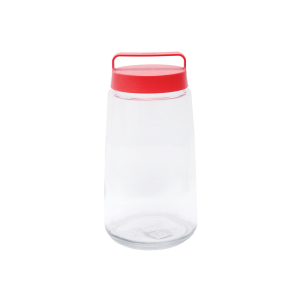 GLASSLOCK TOPLES HANDLE 4 LTR – MERAH
