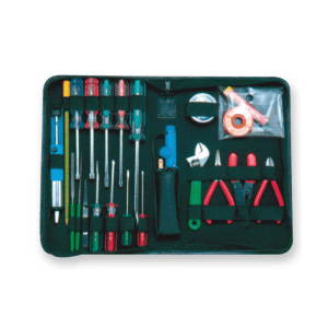 KRISBOW BASIC ELECTRONIC TOOL KIT 23 PCS