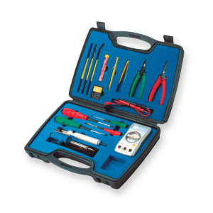 KRISBOW ELECTRONIC TOOL KIT 16 PCS