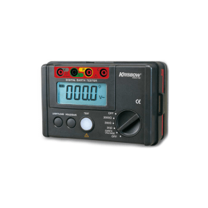 KRISBOW EARTH TESTER DIGITAL 0-2000 OHM