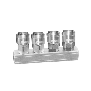 KRISBOW MULTI QUICK 4 COUPLER 1/4 INCI - BAR