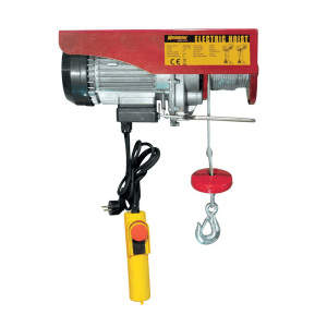 KRISBOW ELECTRIC HOIST REEL DOUBLE HOOK 600 KG