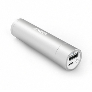 ANKER POWERCORE+ POWER BANK MINI 3,350 MAH - SILVER