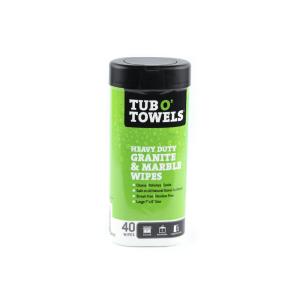 TUB O TOWELS TISU BASAH PEMBERSIH GRANIT DAN MARMER 40 PCS