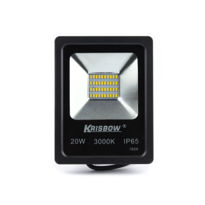 KRISBOW LAMPU LED OUTDOOR 20W 3000K