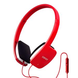 EDIFIER HEADPHONE DENGAN MIC K680 - MERAH