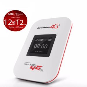 SPEEDUP MODEM PORTABLE MIFI 4G DENGAN PAKET 12 GB/BULAN UNTUK 1 TAHUN