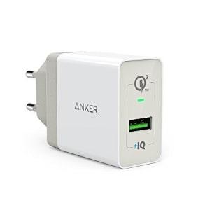 ANKER POWERPORT+ 1 KEPALA CHARGER DENGAN QUICK CHARGE 3 - PUTIH
