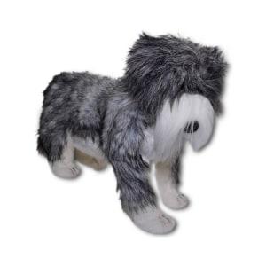 HANSA DOMESTIC DOG BEARDED COLLIE 65 CM - ABU ABU