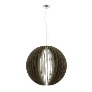 EGLO COSSANO LAMPU GANTUNG HIAS E27 D30 - COKELAT