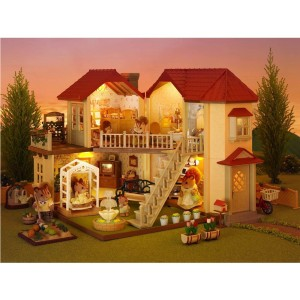 SYLVANIAN FAMILIES CITY HOUSE WITH LIGHTS RENEWAL
