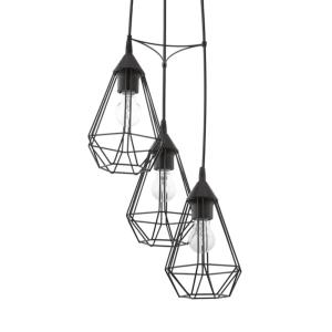 EGLO TARBES LAMPU GANTUNG HIAS 3L ROUND - HITAM