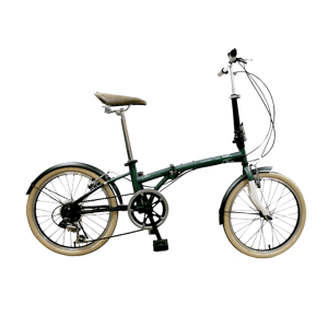 LONDON TAXI SEPEDA LIPAT FOLDING BIKE 20 - GREEN