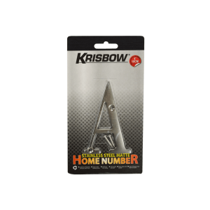 KRISBOW PAPAN HURUF A STAINLESS STEEL