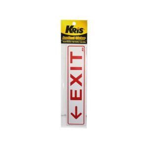 KRIS STIKER ANODIZED 6X20CM - EXIT KIRI