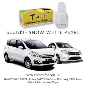 T-UP CAT OLES DEEP SCRATCH REMOVER - SUZUKI SNOW WHITE PEARL