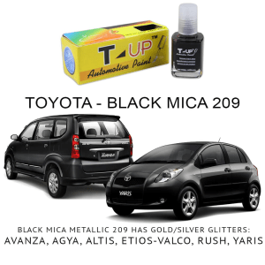 T-UP CAT OLES PENGHILANG GORESAN & BARET (DEEP SCRATCH) - TOYOTA BLACK MICA