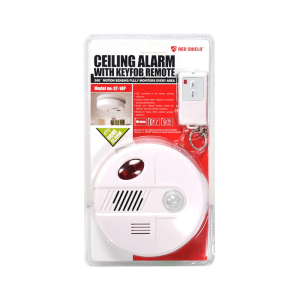 RED SHIELD ALARM 360 DERAJAT DENGAN REMOTE KONTROL