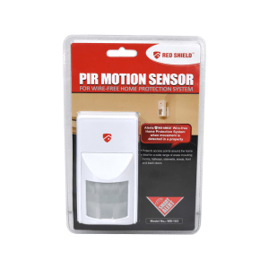 RED SHIELD PIR MOTION SENSOR