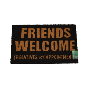 KESET SABUT FRIENDS WELCOME 45X75 CM