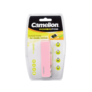 CAMELION POWER BANK 2.000 MAH - PINK