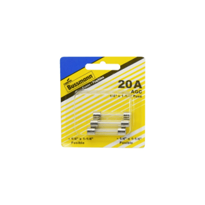 BUSSMANN SEKRING TABUNG 20 AMP 5 PCS