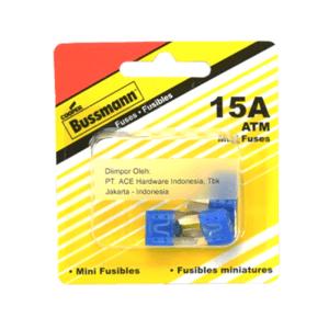 BUSSMANN SEKRING PIPIH ATM MINI 15A 5 PCS