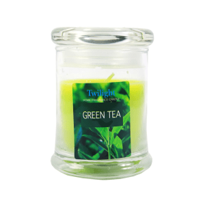 TWILIGHT GREEN TEA CANDLE JAR - HIJAU