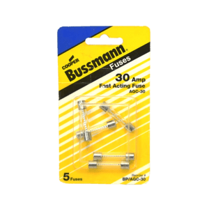 BUSSMANN SEKRING TABUNG 30 AMP 5 PCS