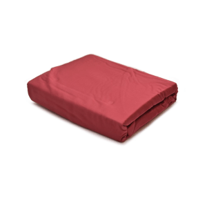 FIORE TWO TONE DUVET COVER TENCEL 260X230 CM - MAROON/GOLD