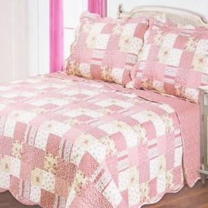 BED COVER 240X210 CM NT3084 - MERAH