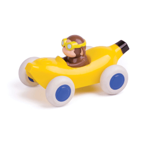 VIKING TOYS CUTE RACER BANANA CAR MONKEY