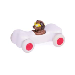 VIKING TOYS CUTE RACER BONE CAR DOG
