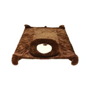 KARPET ANIMAL BEAR 147X173CM - COKELAT