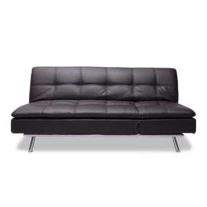 sofa lipat. dayton sofa tidur cokelat tua sofa lipat